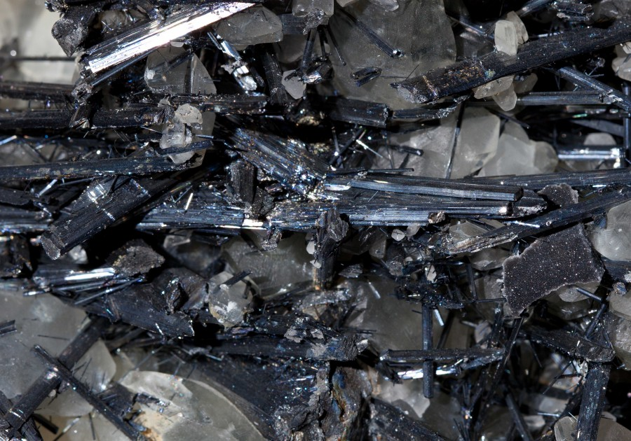 Stibinite2.2 H11cm W23cm D12cm £1200