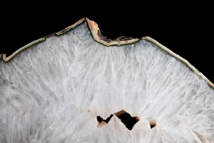 Agate:Quartz steel 2.3 H 61cm W 69cm D 25cm £8,500