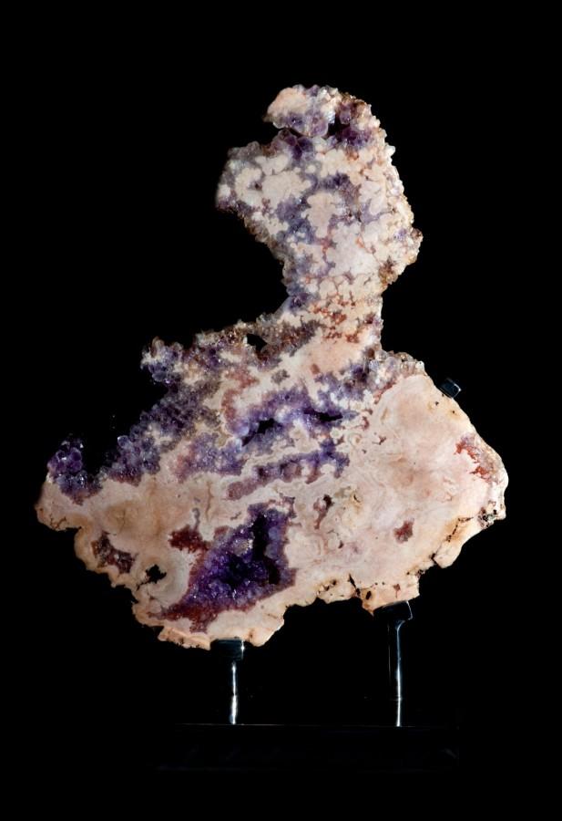Amethyst Rose slice H71cm x W51cm x D18cm £6,500