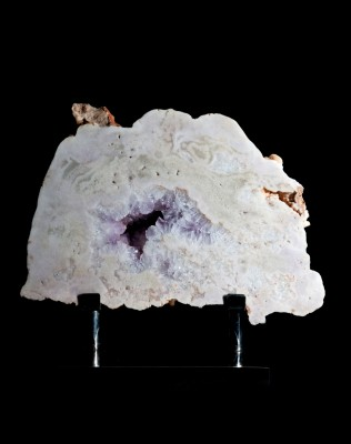 Amethyst pale slice H55cm x W60cm x D25cm £5,500