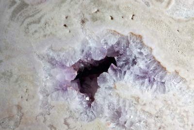Amethyst pale slice1 H55cm x W60cm x D25cm £5,500