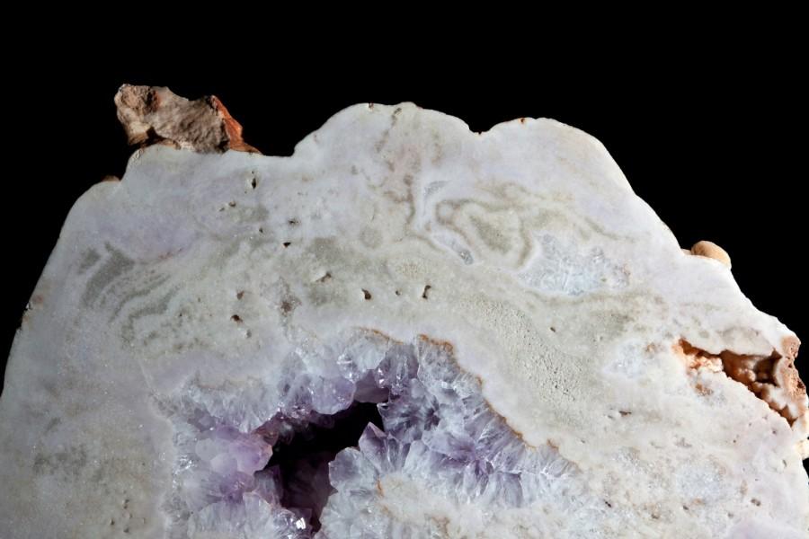 Amethyst pale slice2 H55cm x W60cm x D25cm £5,500