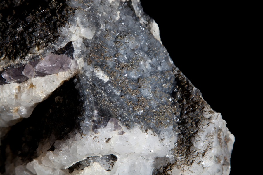 9. FLuorite, Pyrite, Calcite 4