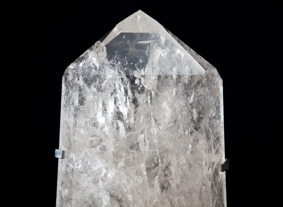 22. Quartz Mounte point H48 W28 D12 .2