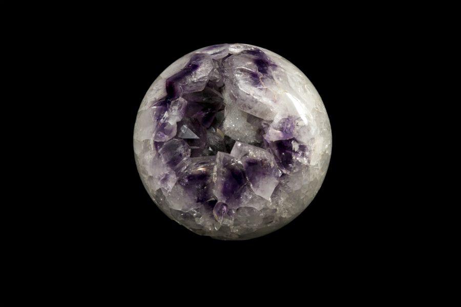 Amethyst Sphere 2. Dia17cms £1,500