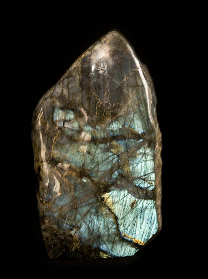 Labradorite1 H35 W20 D8 £2,800