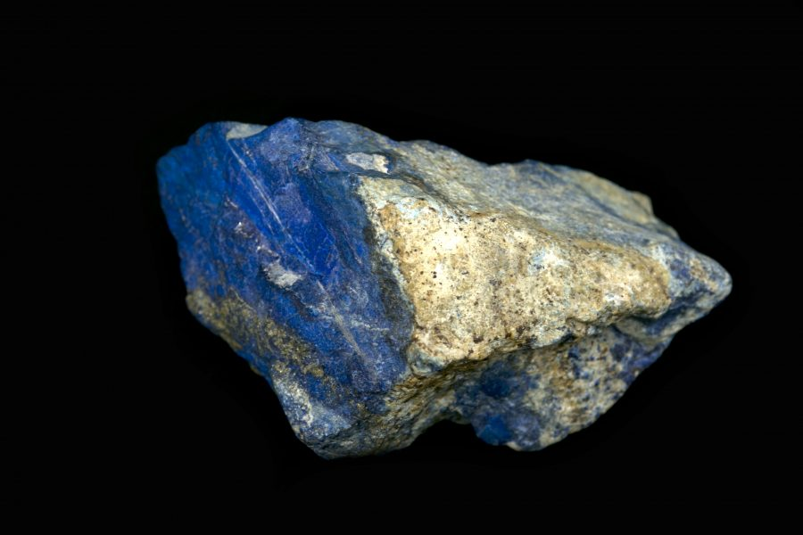 Lapis and Pyrite Raw 3. H10 W20 D13 £1,200