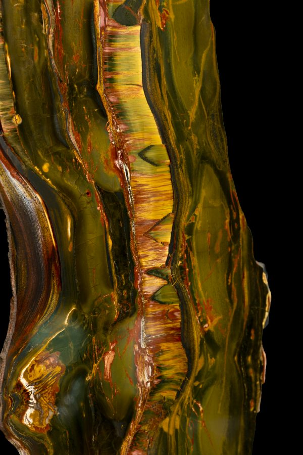 1.2 Tiger Eye Slabs H122 W32 D1.5cms £14,500 each