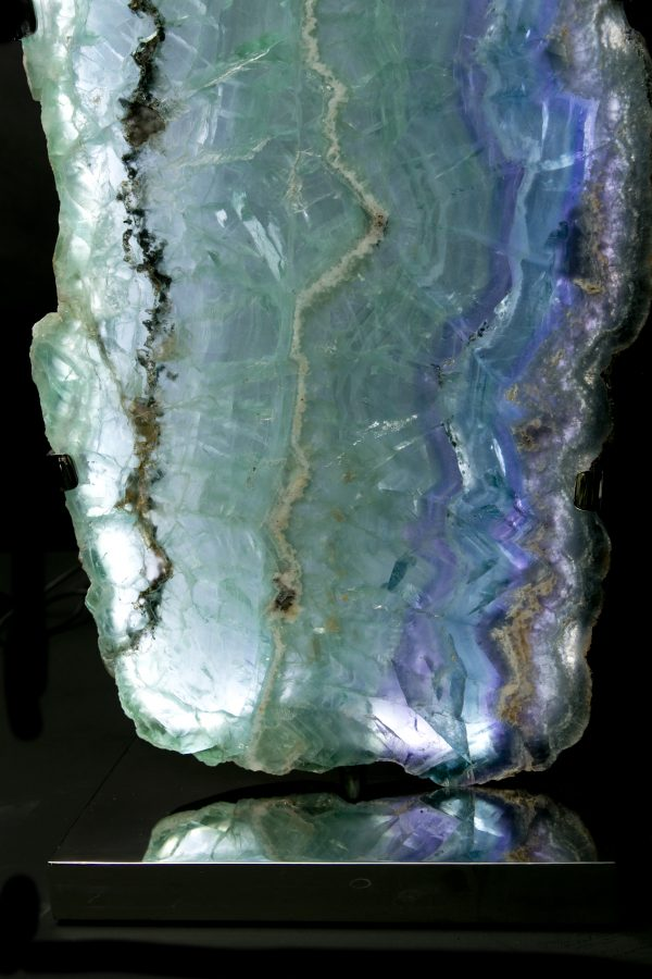 1.3Fluorite Lights H59 W28 D18 pair£6.5k
