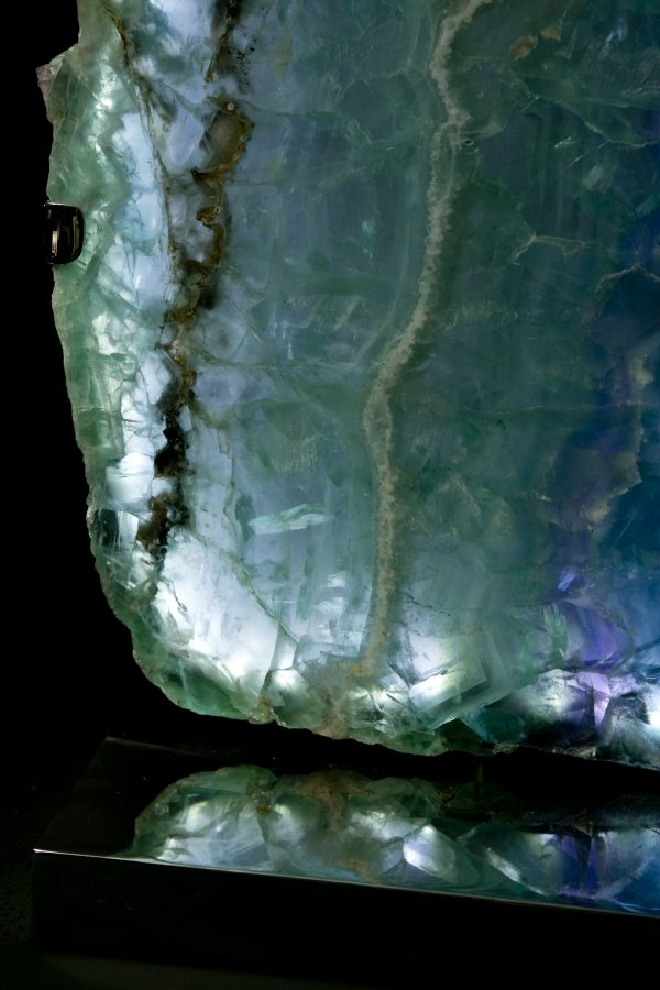 1.5Fluorite Lights H59 W28 D18 pair£6.5k