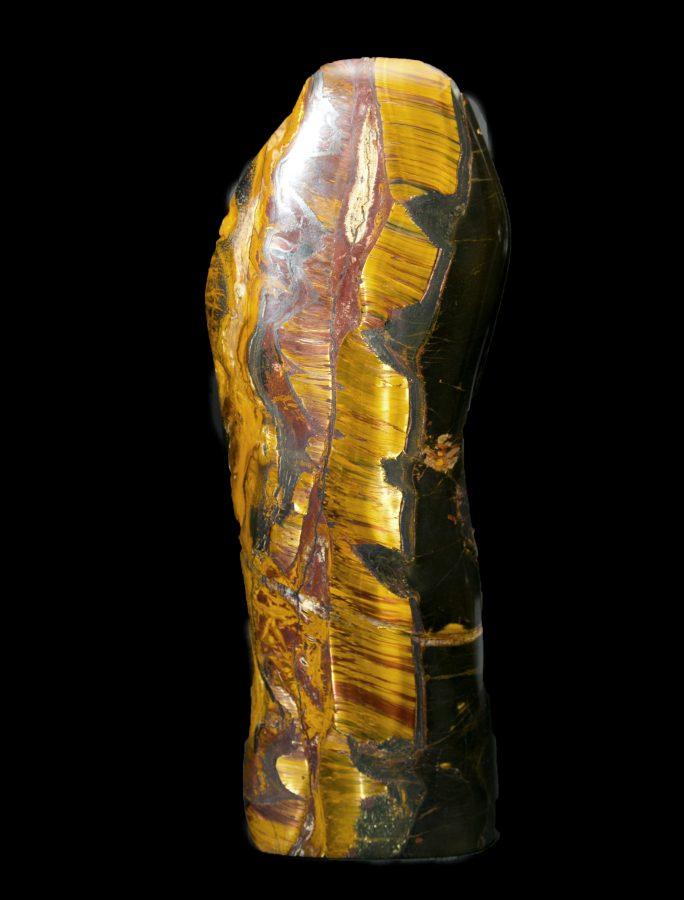 1.Tiger Eye H38 W12 D8 £7,200
