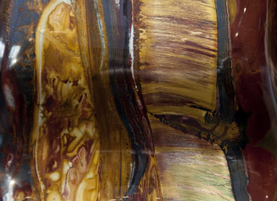 10.4 Tiger Eye H35cm W23cm D6cm £7200