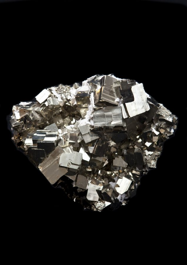12.1 Pyrite cluster1 H22cm W30cm D16cm