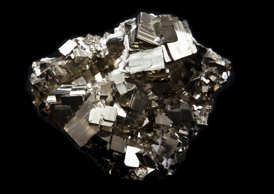 12.2 Pyrite cluster1 H22cm W30cm D16cm