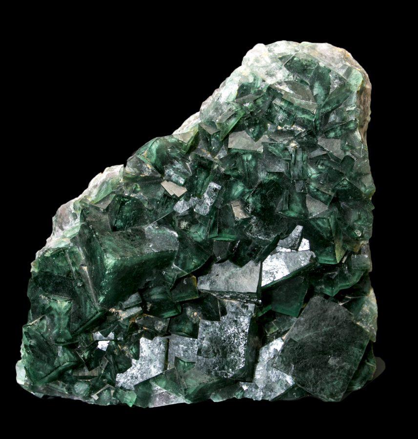 12.Fluorite Cluster Madagascar H36 W38 D10 £8.5k