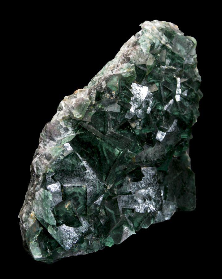 12.Fluorite Cluster Madagascar.2 H36 W38 D10 £8.5k