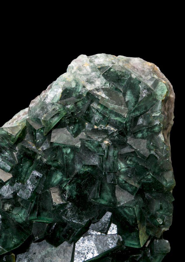 12.Fluorite Cluster Madagascar.3 H36 W38 D10 £8.5k