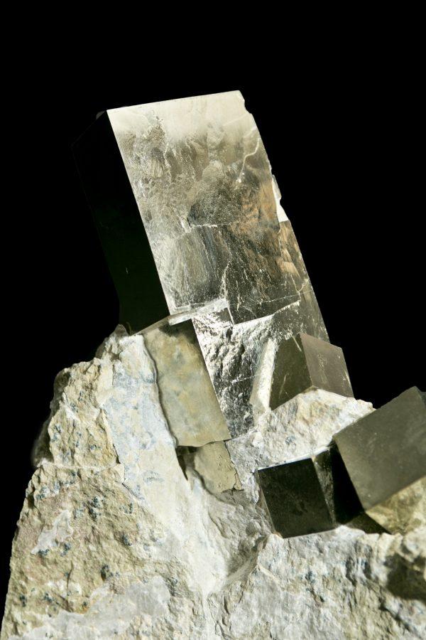 2.Pyrite Cube Cluster2 H25 W20 D8 £5,500