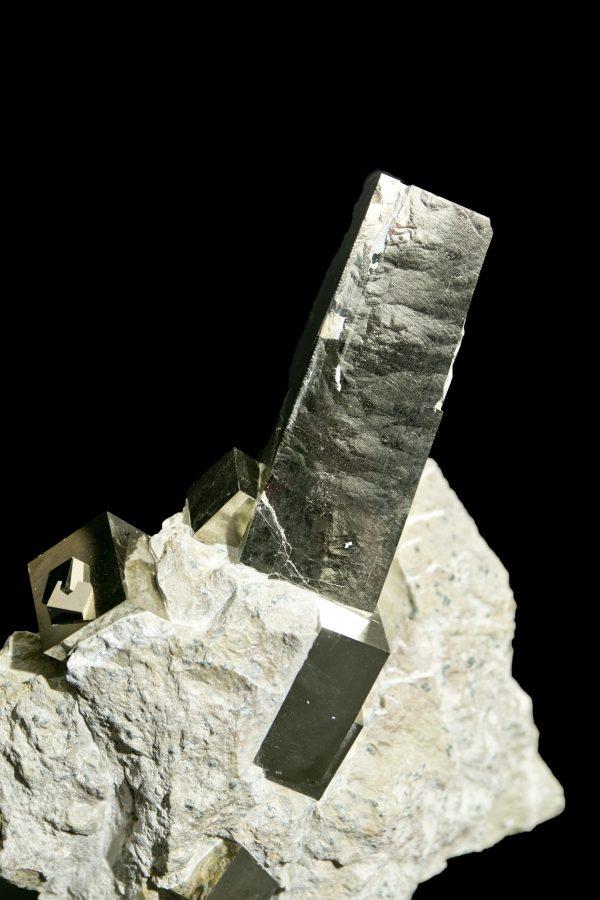 2.Pyrite Cube Cluster3 H25 W20 D8 £5,500