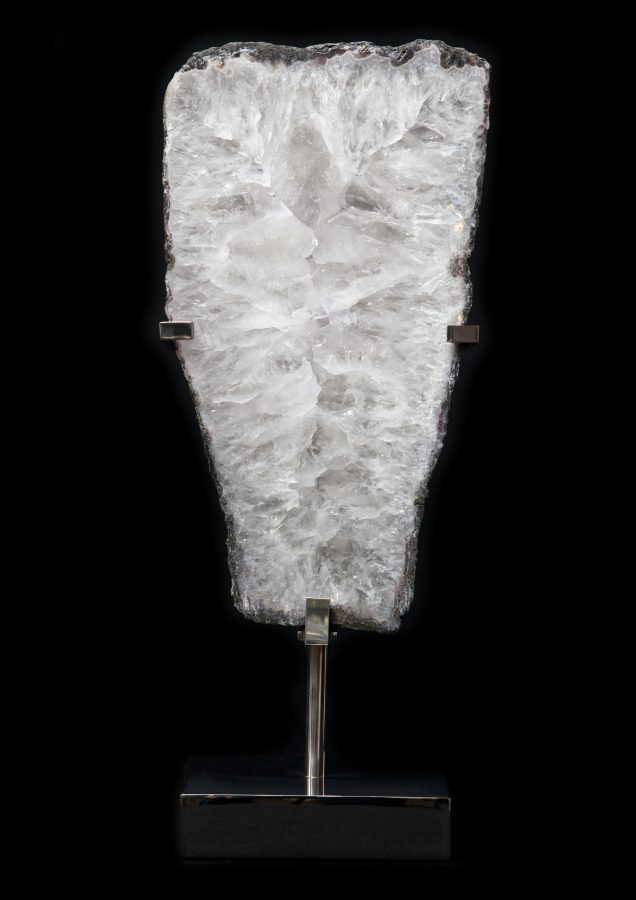 5. Quartz slice H60cm W24cm D15