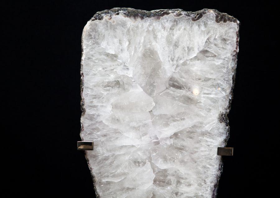 5.2 Quartz slice H60cm W24cm D15