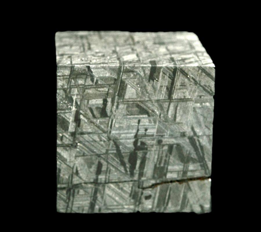 5.Meteorite Cube Muonionalusta H5 W5 D5cms £6,400