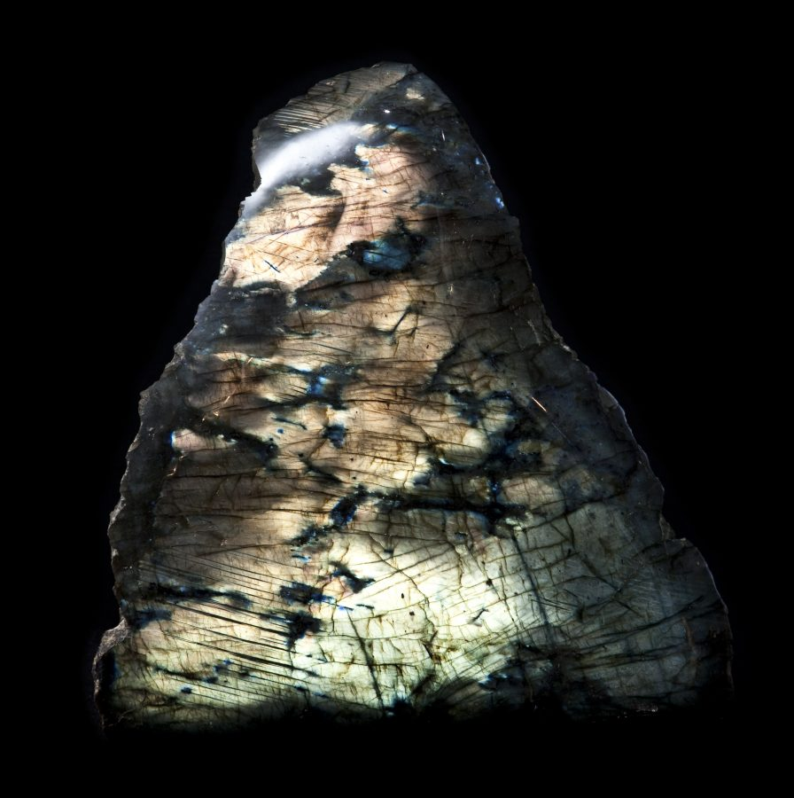 7. Labradorite1 H41cm W41cm D12cm